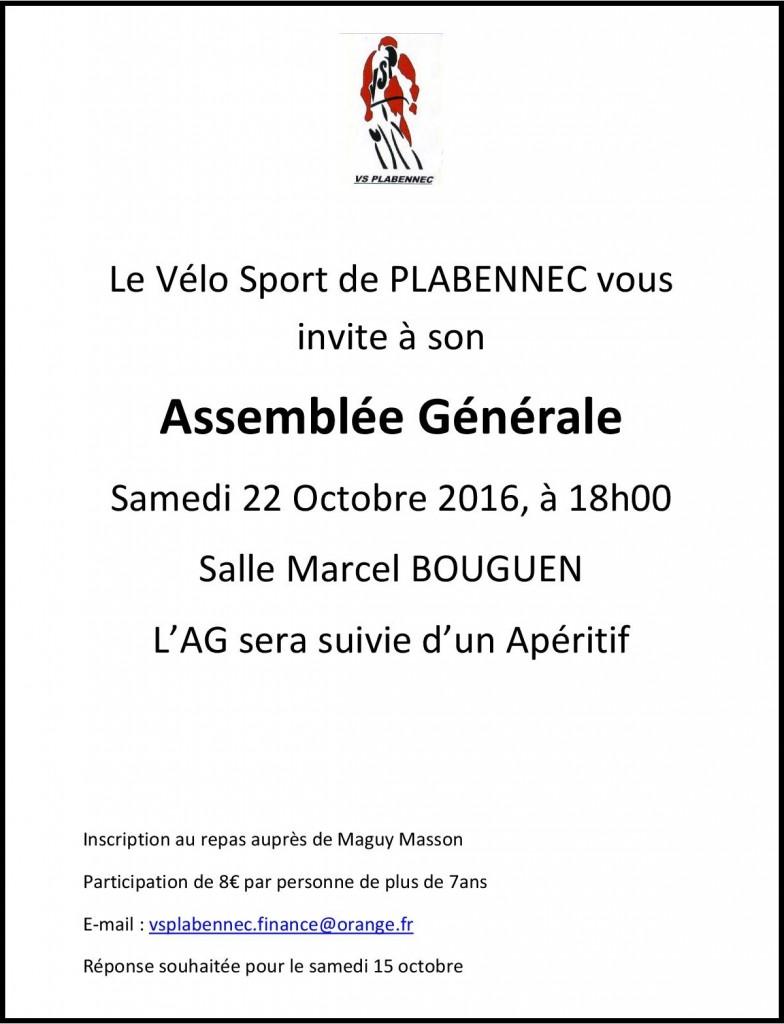 Invitation AG 2016