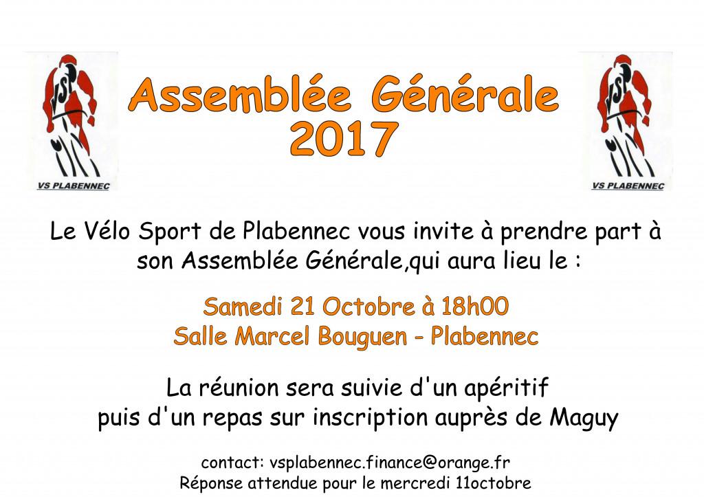 Invitation AG2017