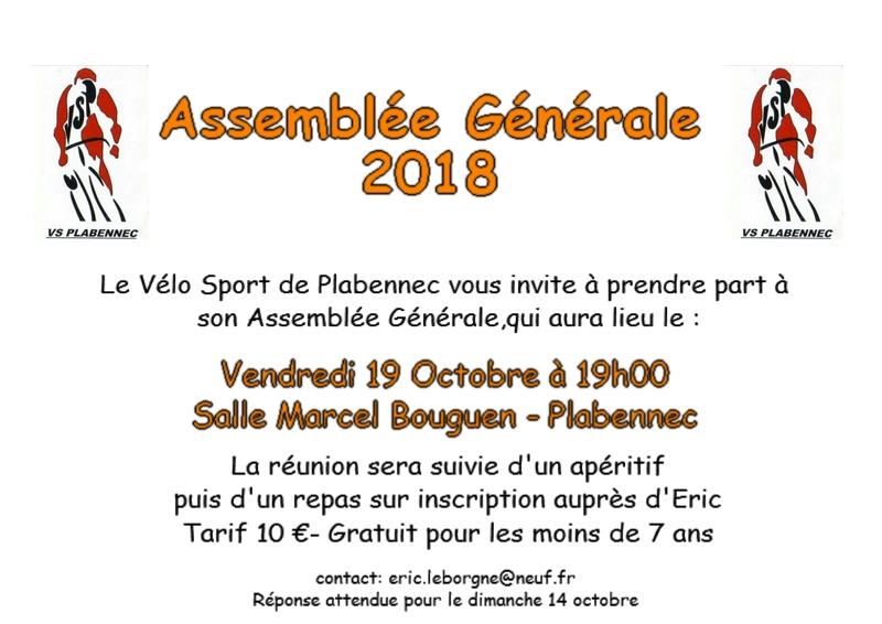 Invitation AG2018